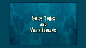 guide tones & voice leading