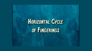 horizontal cycle of fingerings