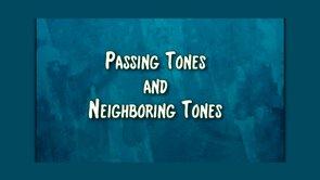 passing tones