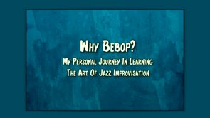 why bebop