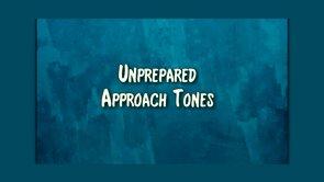 unprepared approaches