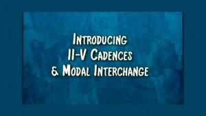 II-V cadences