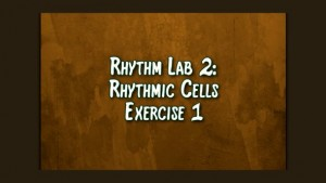 Rhythmic Cell Ex1