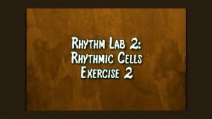 Rhythmic Cell Ex2
