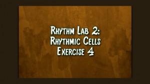 Rhythmic Cell Ex4