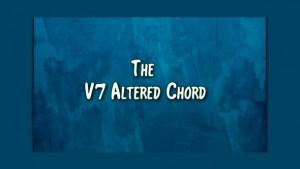 The V7 Alt Chord