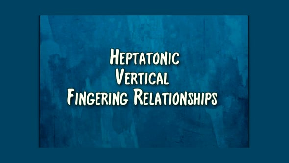 vertical fingering relationships