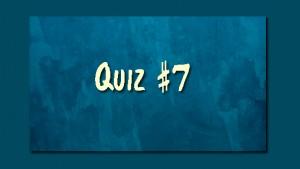 Quiz7