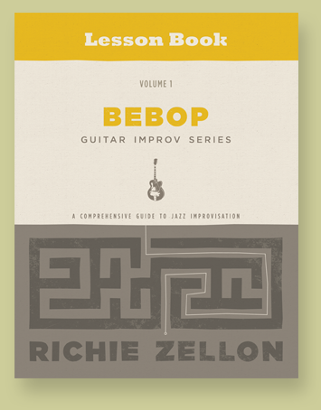 Bebop Guitar Improv Series Lesson Book