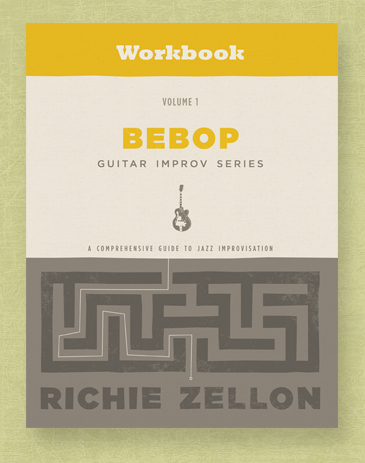 Bebop Guitar Improv Series Workbook