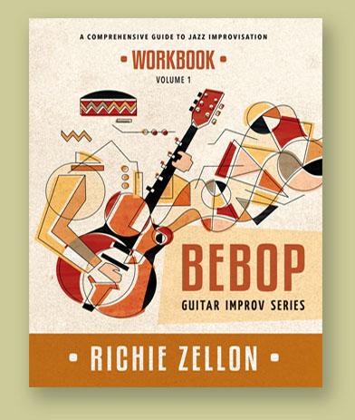 Bebop Guitar Improv Series Workbook